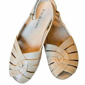 Kim Rogers flat Sandals NWOT